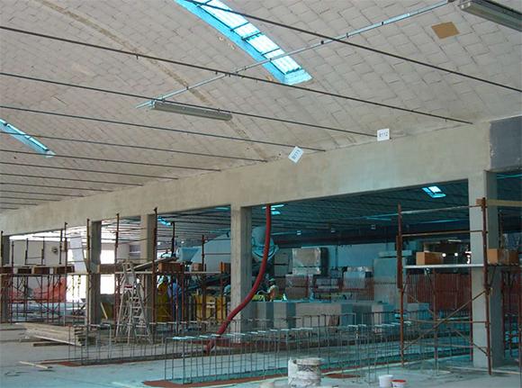 Decorazioni e recupero di decorazioni decorazione di un soffitto